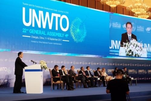 旅遊局參加聯合國世界旅遊組織全體大會