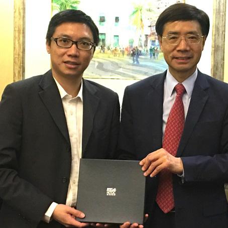 澳門餐飲業聯合商會接待香港貿發局一行來訪談合作
