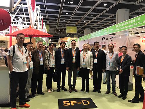 澳門餐飲業聯合商會組團出席香港第28屆美食博覽