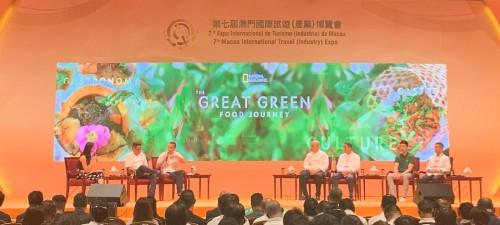 """餐飲業聯合商會組織會員參與""""綠色美食之旅""""學術分享會"""